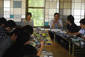 2010年秋 中央大学細野グループとの意見交換会。第2日目