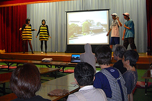 池袋・地区社協と、はっち・Bee・8とのコラボ
