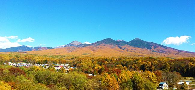 富士見町の秋の景色をおさらい