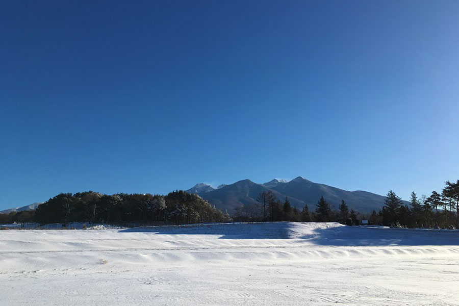 富士見町に降る雪は2種類。「暖かい雪」と「冷たい雪」