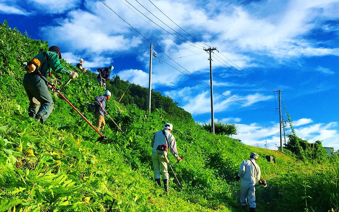 この景色や資源を支える「地域の暮らし」