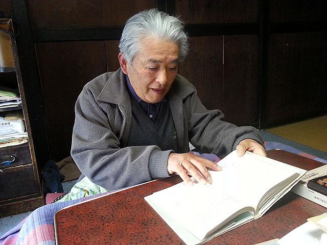 武藤雄六さん(井戸尻考古館元館長)